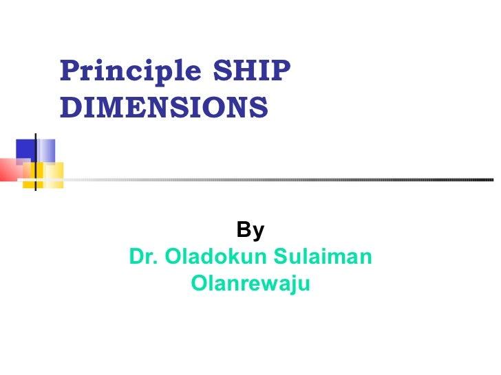 4 ship dimensions