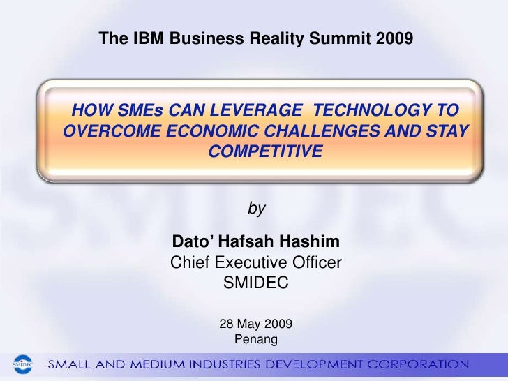 How SMEs Can Leverage Technology to Overcome Economic Challenges and Stay Competitive