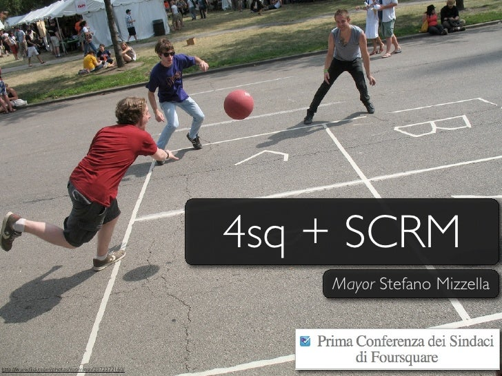 4sq + SCRM