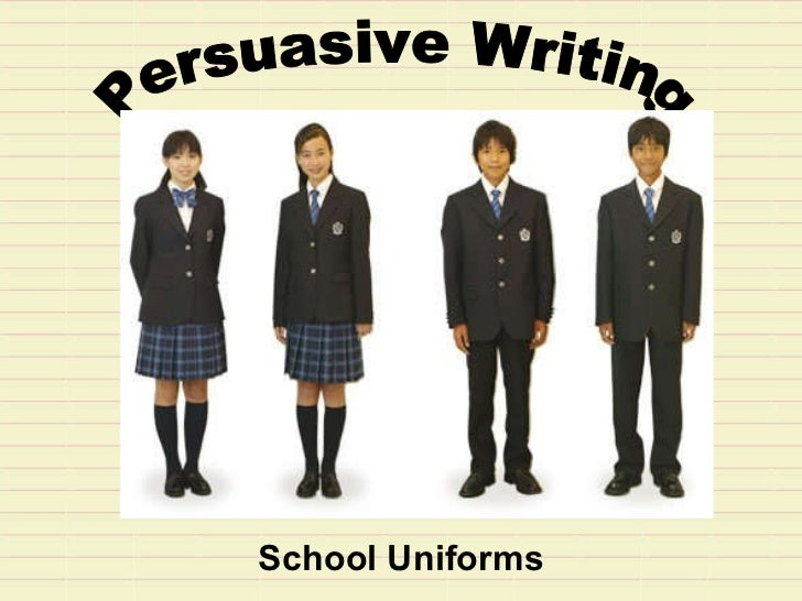 Uniforms at school essay
