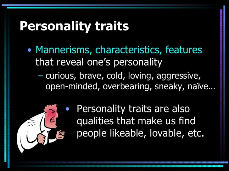 phd thesis on personality traits Trait theory suggests that personality is made up of a number of broad traits learn more about this theory and explore a few of the key traits central traits: these are the general characteristics that form the basic foundations of personality these central traits, while not as dominating as cardinal.