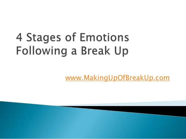 stages of a break up