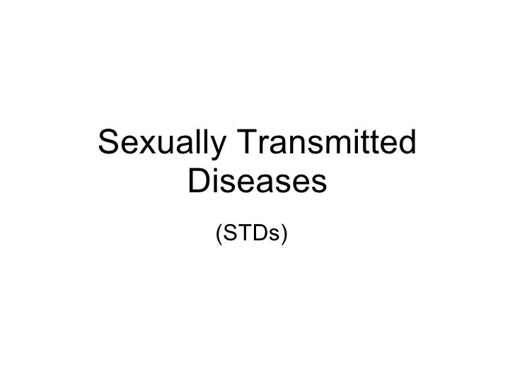 Chapter 17 Reproduction in Humans Lesson 4 - Sexually Transmitted Diseases (STDs) and Family Planning