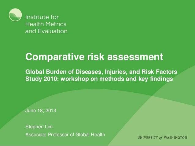Comparative risk assessment
