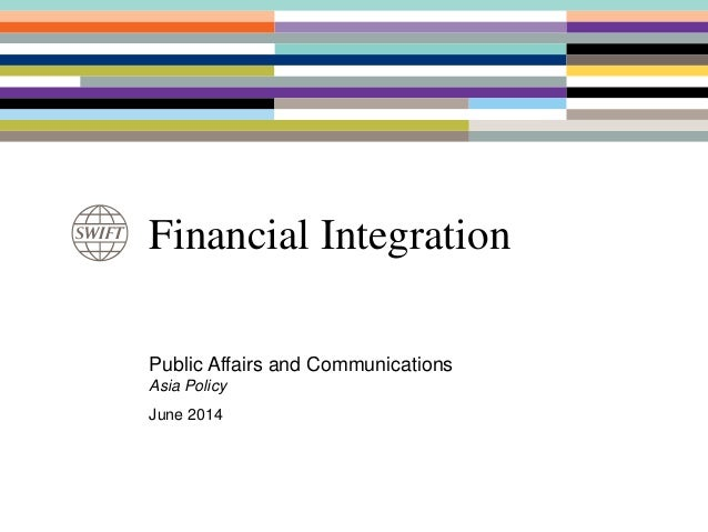 SWIFT's role in supporting financial intergration in ASEAN, Usama DeLorenzo, SWIFT