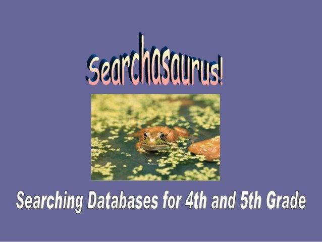 4th5thgradedatabase