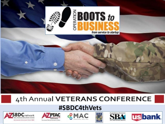4th Annual SBDC Veterans Conference, Tucson 10 18 13