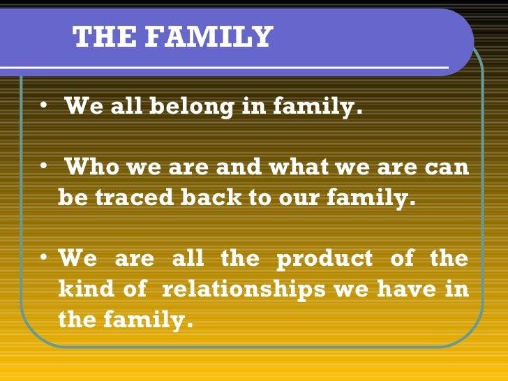 4th commandment & family
