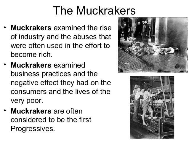 muckrakers of the progressive era wrote novels and essays
