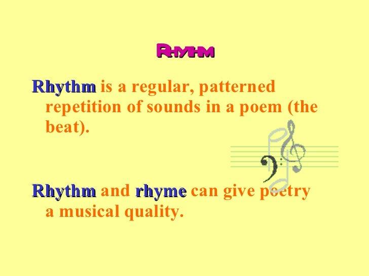 Rhythm Definition For Kids