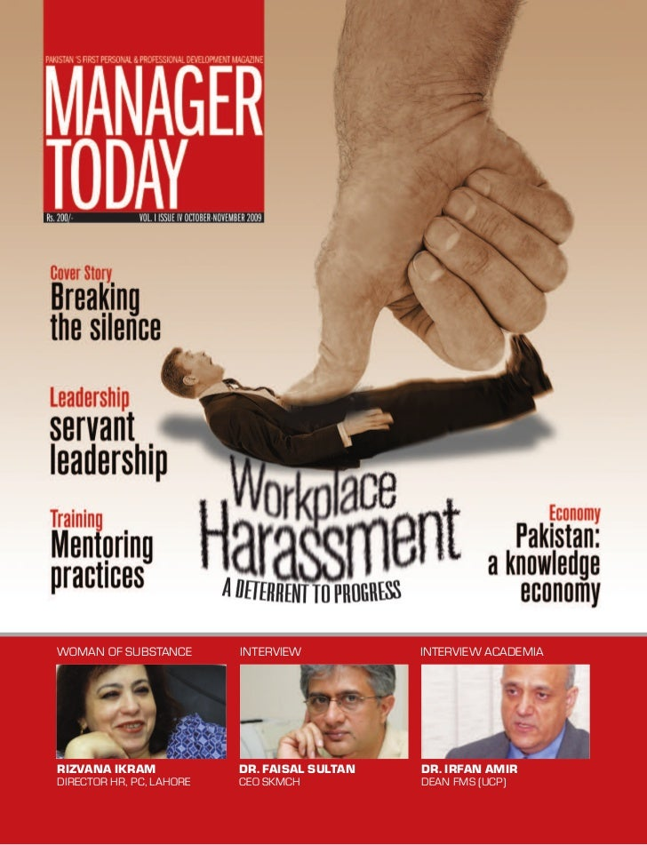 4th Issue by Manager Today Magazine