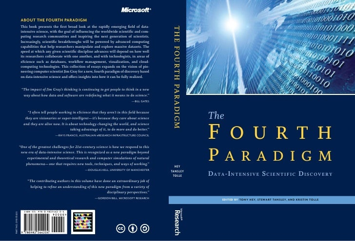 ABOUT THE FOURTH PARADIGM                       This book presents the first broad look at the rapidly emerging field of d...