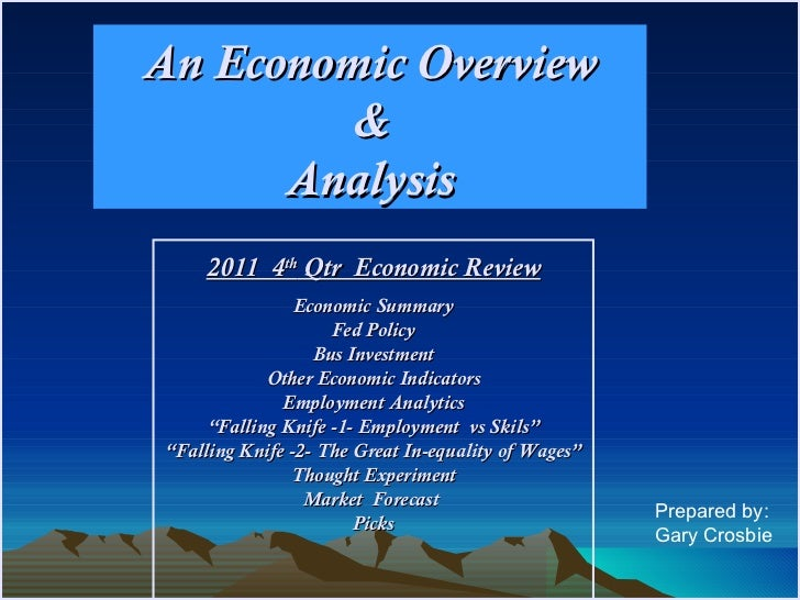 4th Qtr Year End 2011 Economic  Review Feb 15 [Autosaved] [Autosaved]