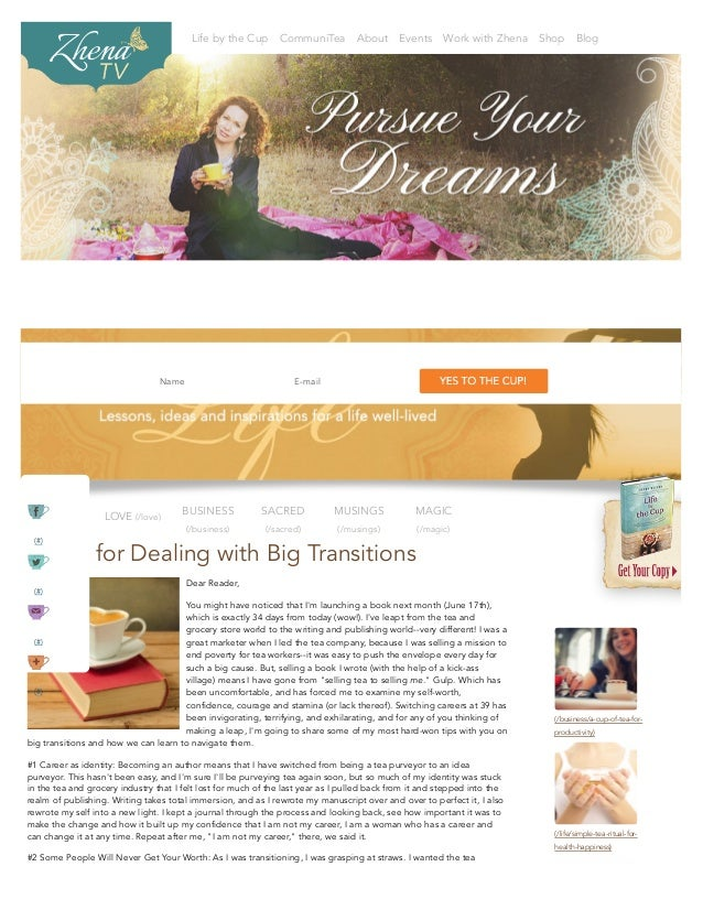 Life by the Cup CommuniTea About Events Work with Zhena Shop Blog (/business/a-cup-of-tea-for- productivity) (/life/simple...
