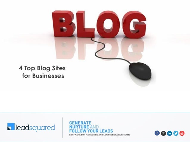 4 Top Blog Sites for Businesses