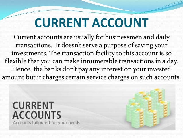 type of bank account Banks provide different payment services, and a bank account is considered indispensable by most businesses and individuals online banking over the internet to perform multiple types of transactions mobile banking is using one's mobile phone to conduct banking transactions.