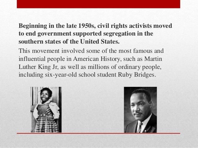 How successful had the Civil Rights been by the late 1960's? - History Coursework?