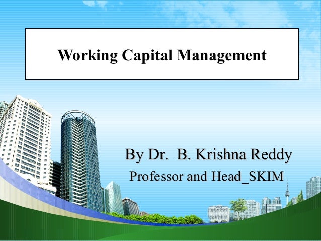 4 working capital managementppt