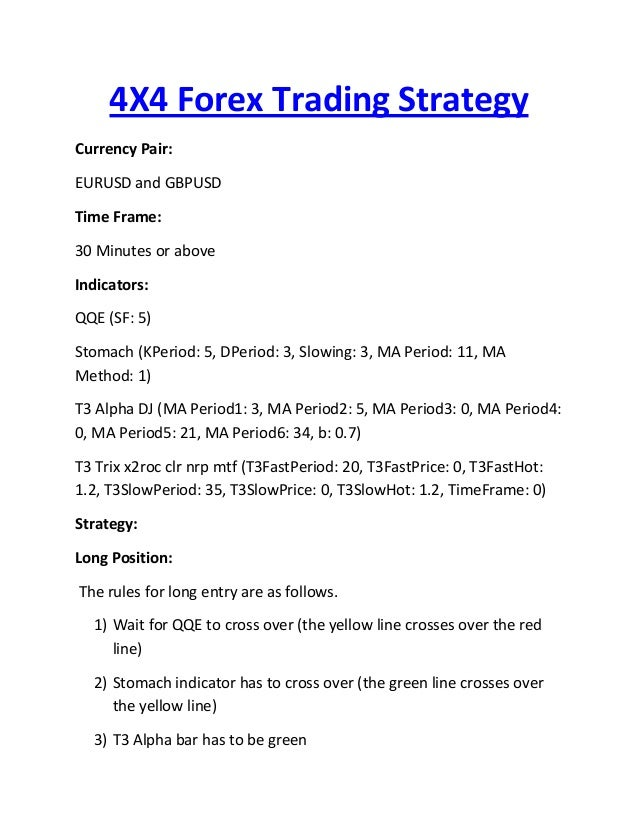 F trading strategy 5 minutes