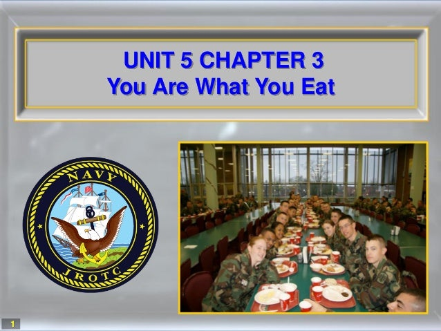 1UNIT 5 CHAPTER 3You Are What You Eat1