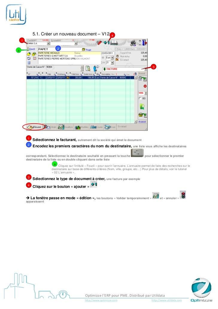 5.1. Créer un nouveau document – V12                               4    1                       ...