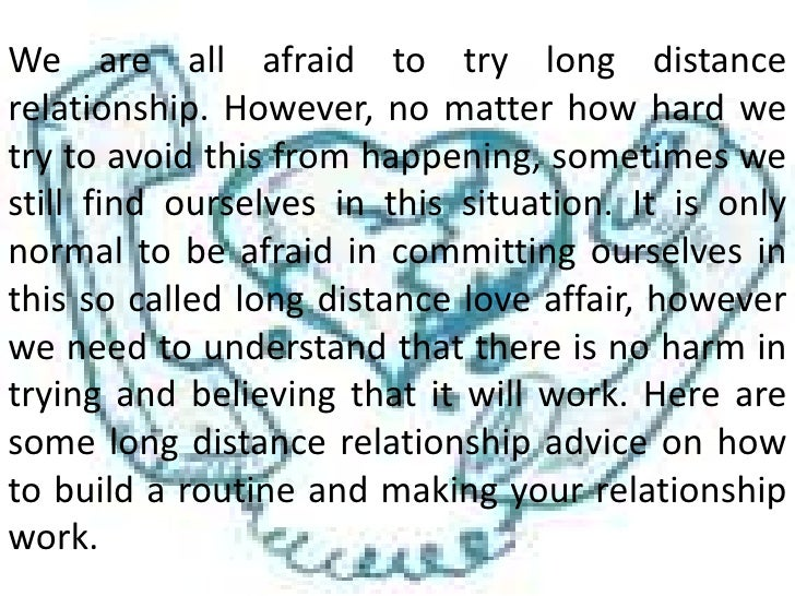informative essay on long distance relationship