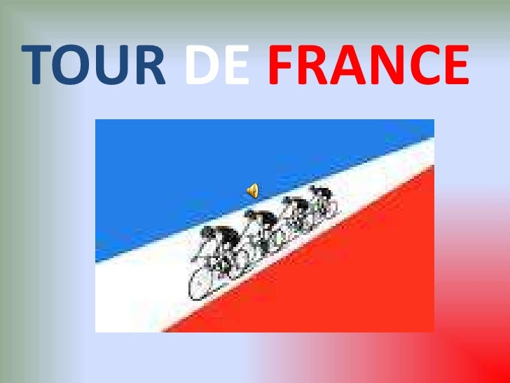 TOURDE FRANCE<br />