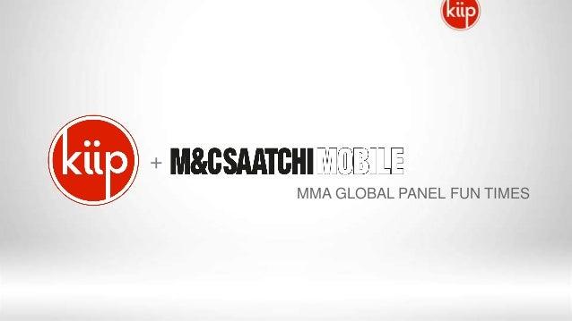 +MMA GLOBAL PANEL FUN TIMES