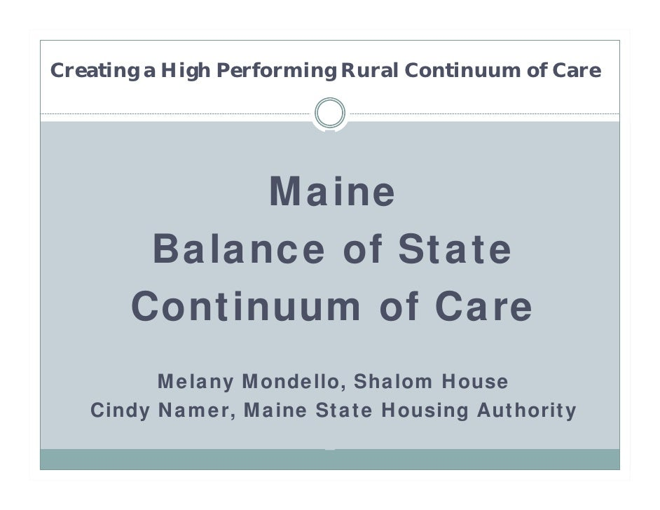 5.11 Critical Success Factors in High Performing Rural Continuums of Care (Mondello)