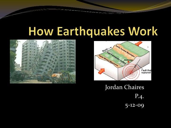 (5 12 09) How Earthquakes Work