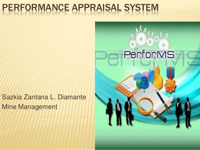 performance appraisal system (MNG 106)