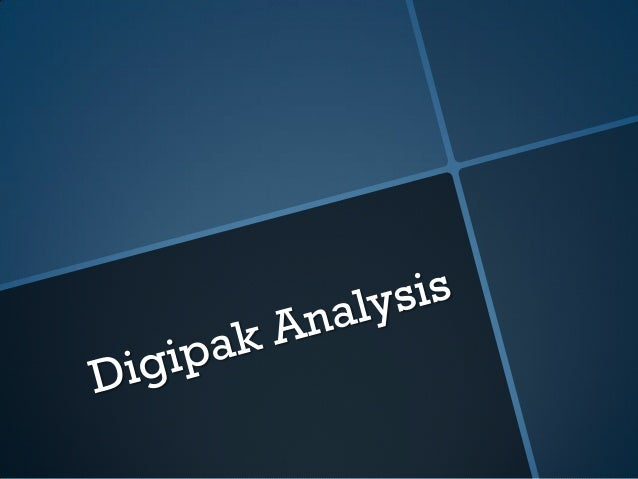 5. digipak analysis