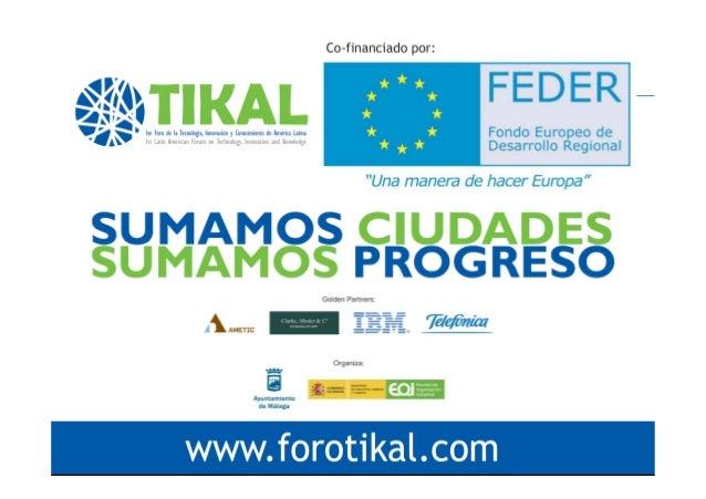 """16:00-17:00 h. Mesa redonda. PROYECTOS  DE EMPRESAS  EN SMARTCITIES """"La especialización de los servicios empresariales par..."""