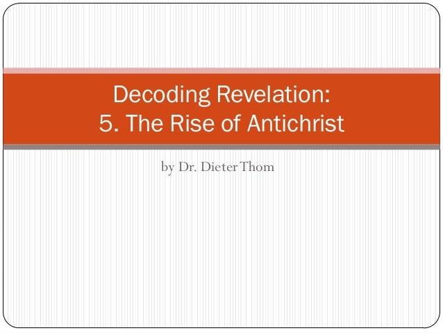 5. The Antichrist