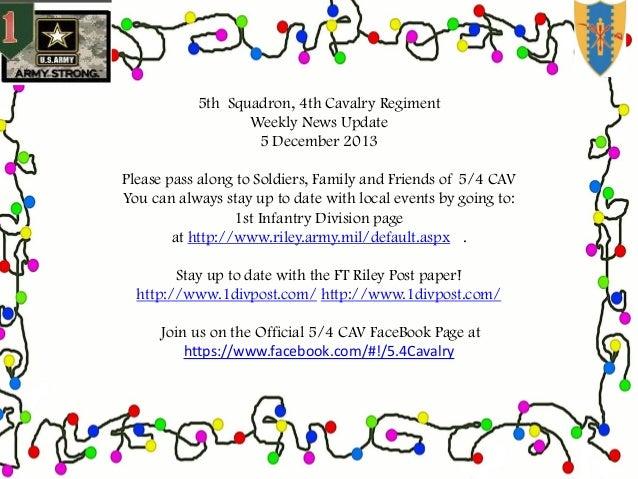 5.4 CAV weekly news update 5 december 2013
