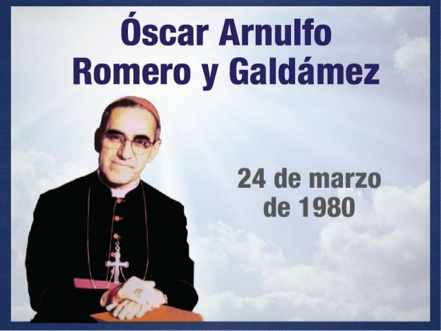 a biography of oscar arnulfo romero 15 quotes from oscar a romero: 'we have never preached violence, except the violence of love, which left christ nailed to a cross, the violence that we must each do.