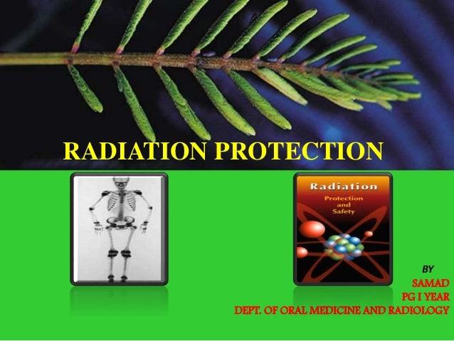 5.radiation protection
