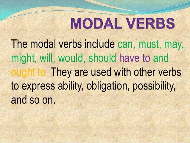 5. verbos modales