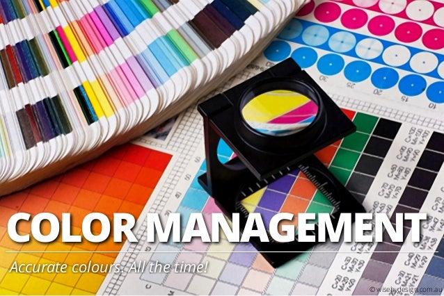5. DSLR Photography 101 - Colour Management