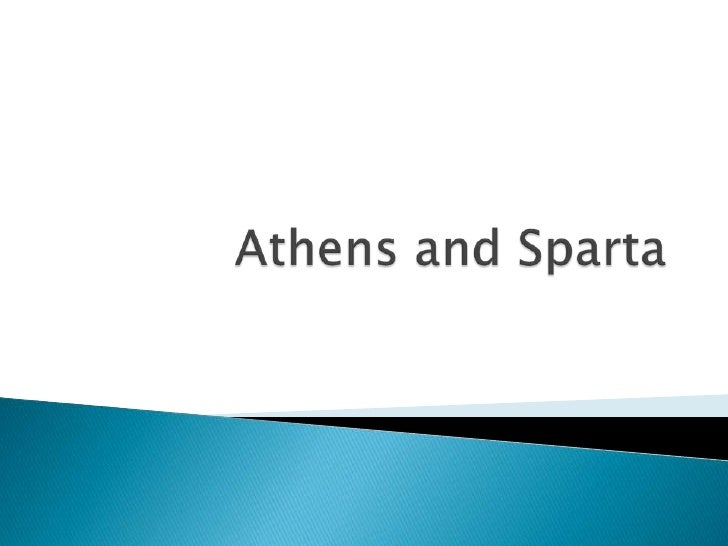 Athens and Sparta<br />