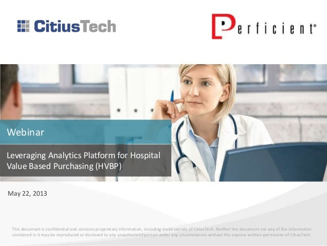 Hospital Value-Based Purchasing: Leveraging Analytics for HVBP Prospective Payments