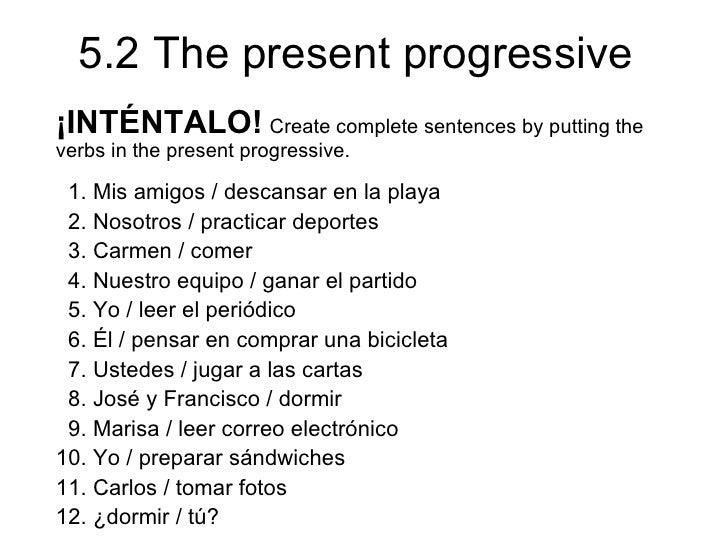 Printables Present Progressive Spanish Worksheet spanish present progressive worksheet bloggakuten collection of bloggakuten