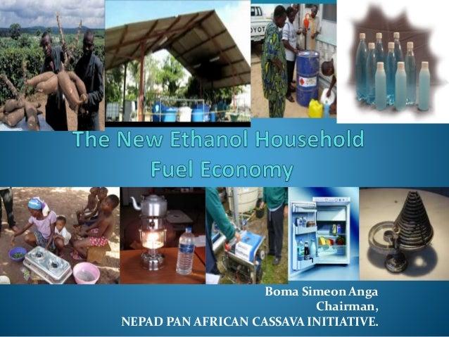 Boma Simeon Anga Chairman, NEPAD PAN AFRICAN CASSAVA INITIATIVE.