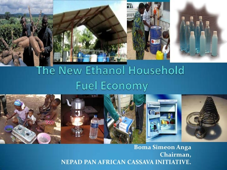 Session 5.2 Using Ethanol for domestic energy supply in Nigeria by Anga from NEPAD