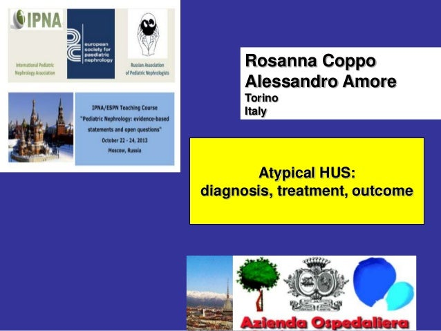 5-3. Atypical HUS. Rosanna Coppo (eng)