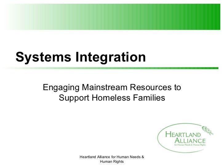 5.3 Better Outcomes for All: Working with Mainstream Services Agencies to End Homelessness