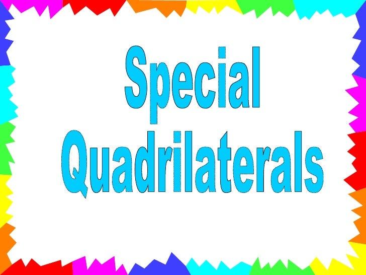 TechMathI - 5.3 - Properties of Quadrilaterals