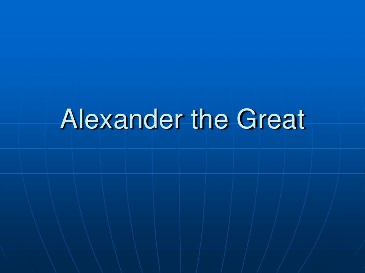 5.4   alexander the great