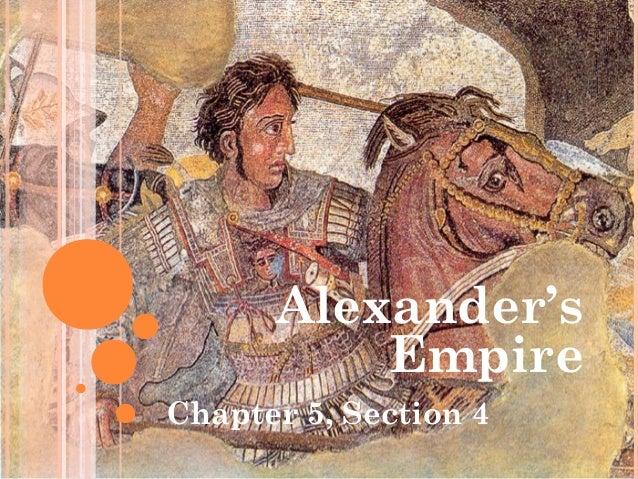 5.4 alexander's empire