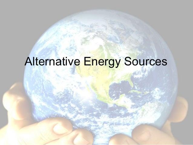 5.6 alternative resources